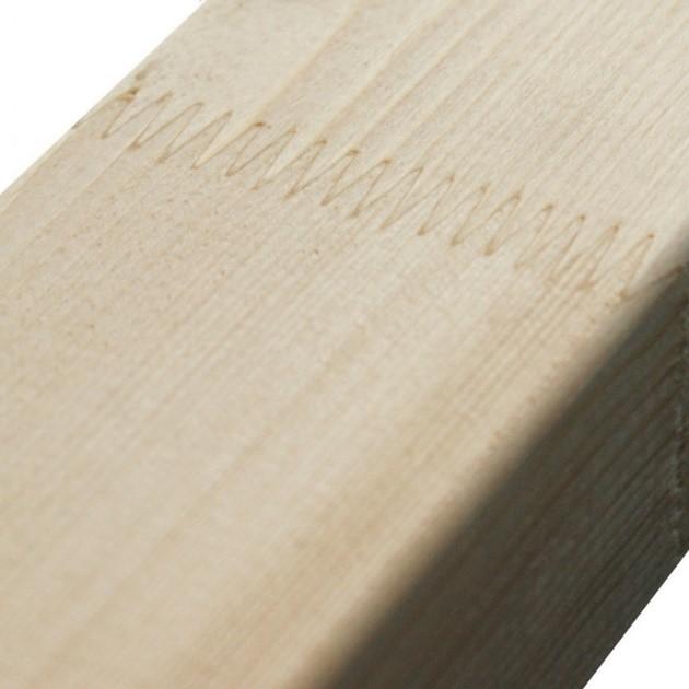 Gevingerlast houten spieraam